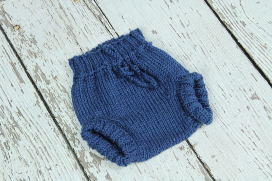 Knitted Wool Soakers(nappy Cover)- Size Small on Luulla